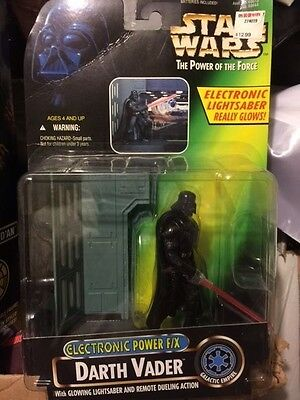 "Star Wars Hasbro-Kenner Action Figure 3 3/4"" Darth Vader Electronic Power Force"