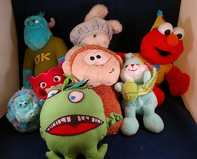 Stuffed Animals, Assortment of 8, Monsters University, TY, Fisher-Price, Unknown