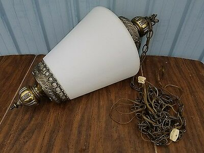 Vintage Art Deco Ceiling Hanging Light/lamp Fixture