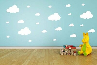 Cloud Wall Stickers Children's Bedroom Nursery Sticker Decal Decoration