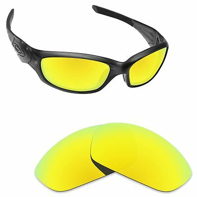 Newest Replacement Lenses for-Oakley Straight Jacket 2007 24K Golden  Polarized