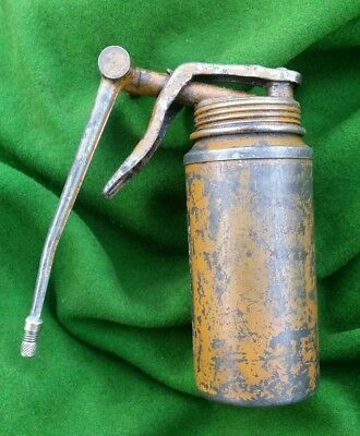 Vintage Classic Ariel Motorcycle Oil Can Vb Fh Vh Nh Square 4 Huntmaster Ht Ssdt