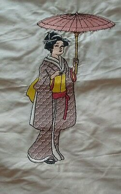 Chinese tapestry silk  picture