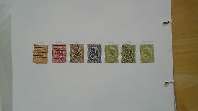 Early Finland  Soumi stamps, one is MLH, cat number see photos