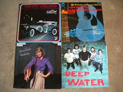 Vinyl LP Job Lot 4 items -Not just the usual COUNTRY MUSIC