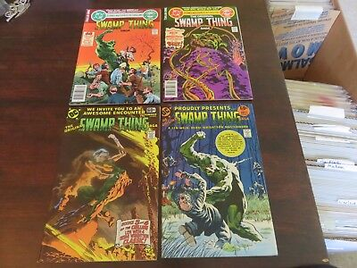 DC Special Series #14 Swamp Thing Saga 4 book lot Wrightson RARE