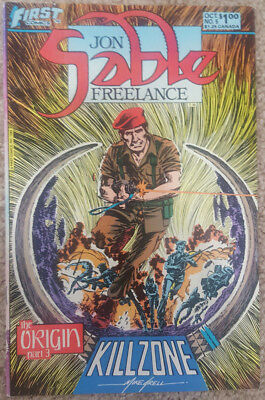 Jon Sable, Freelance #5 (Oct 1983, First Comics)