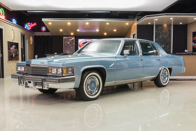 1978 Cadillac Fleetwood  12k Actual Mile Fleetwood! Only 2 Owners Since New, Numbers Matching, Documented