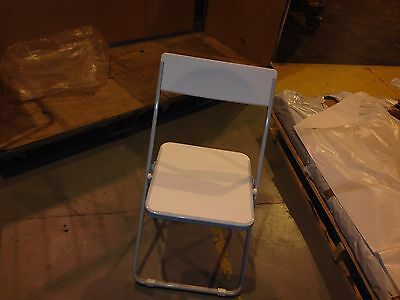 Linea folding chair white restaurant event wedding joblot price available