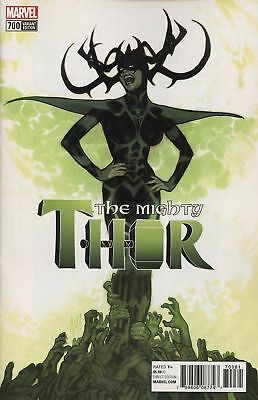 Marvel Legacy Mighty Thor #700 1:100 Incentive Variant by Adam Hughes - Hela!