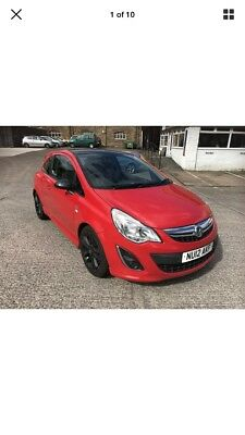 Vauxhall  corsa 1.3 cdti ltd edition eco