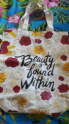 Beauty And The Beast Tote Bags- Clintons