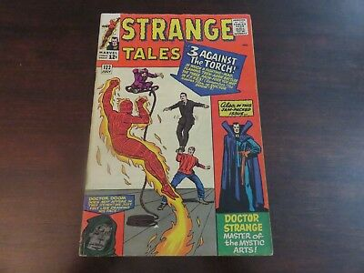 Strange Tales #122 (Jul 1964, Marvel) Human Torch VG+