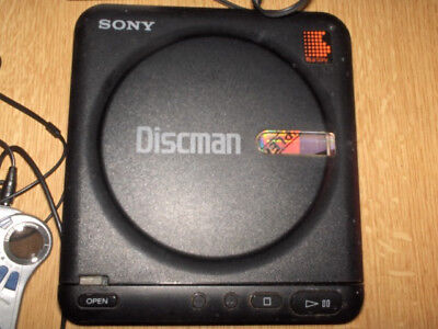 Sony Discman D-20 With Exras