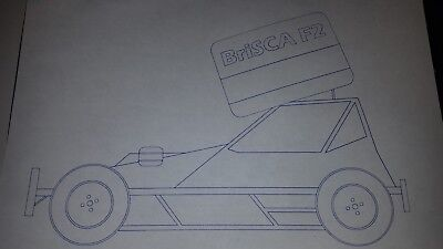 Brisca F2 Shale Stockcar Sticker