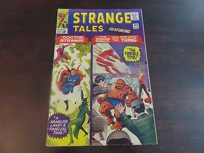 Strange Tales #133 (Jun 1965, Marvel) Human Torch FN-