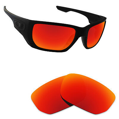Newest Replacement Lenses for Style Switch Orange Red Mirror Polarized
