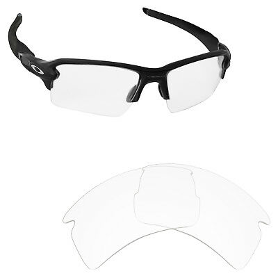 Newest Replacement Lenses for-Oakley Flak 2.0 XL HD Clear