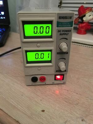 Adjustable Laboratory Power Supply 0-15 VDC Precision Variable Digital PS1503SB