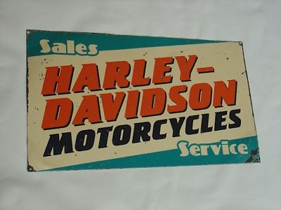 Harley Davidson Dealer Sign John Deere Ford Chevy Farm Pepsi Caterpillar Tractor