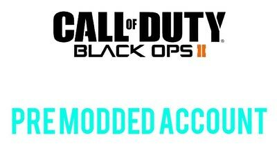 black ops 2 pre modded accounts/recovery service (ps3)