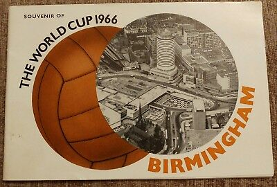 The World Cup 1966 Birmingham Souvenir