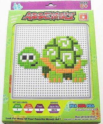 Steck Mosaik Schildkröte Gather Joyfully NEU OVP grün Pick Plug Set ab 6J kinder