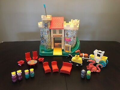 VIntage Fisher Price Castle set! COMPLETE!!