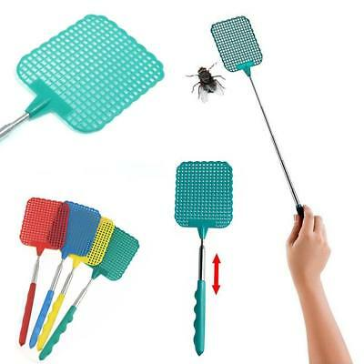 Extendable Fly Swatter Telescopic Insect Swat Bug Mosquito Wasp Killer House ED