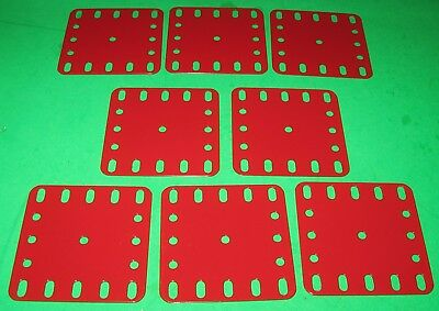 "MECCANO COMPATIBLE METALLUS PARTS FLEXIBLE PLATES 2-1/2"" x 2-1/2"""