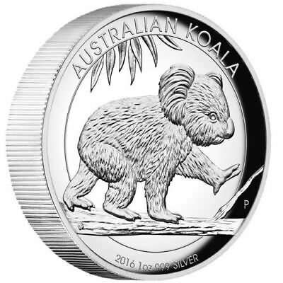 Australian Koala 2016 1oz Silver Proof High Relief Coin PCGS PR69 DCAM