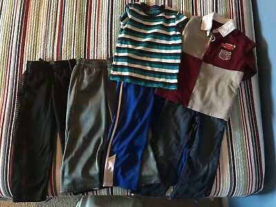 Lot Of Boys Size 5 Clothes Athletic Pants Jeans long sleeve shirts