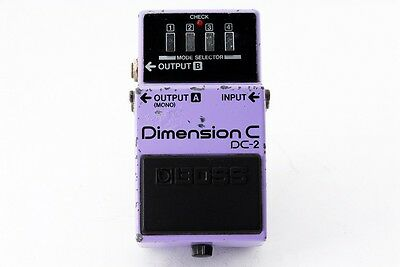 BOSS DC-2 Dimension C Chorus Made in Japan 80's Vintage Pedal