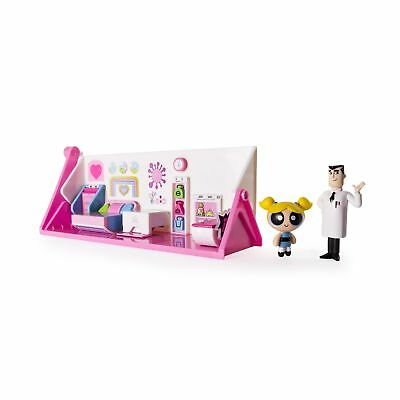 The Powerpuff Girls 2 in 1 Flip to Action Playset by Spin Master New