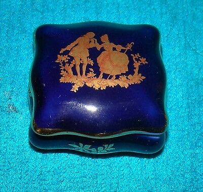 Limoges France Porcelain Trinket Box • $14.99 - PicClick