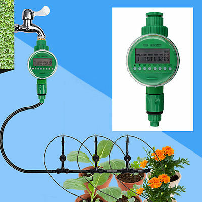 New Water Timer Automatic Digital LCD Electronic Garden Irrigation Controller