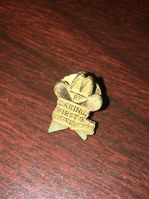Vintage McDonald's Restaurant Be Daring First & Different  Pin