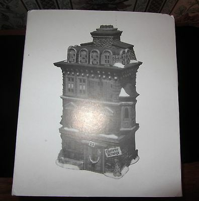 """Dept 56 DICKENS VILLAGE """"THE FLAT OF EBENEZER SCROOGE""""; Made in 1989; MINT w BOX"""