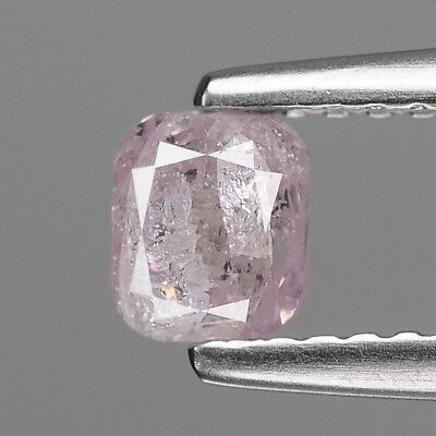 Fancy Purple Pink Diamond Cushion 0.66 cts Loose Diamond Fancy Natural F723