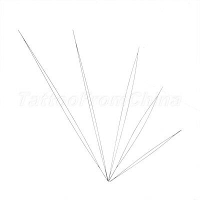 5Pcs Beading Needles Threading String Cord Pins Jewelry Necklace Sewing Tool