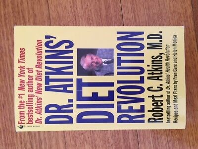 Dr. Atkins' Diet Revolution Book