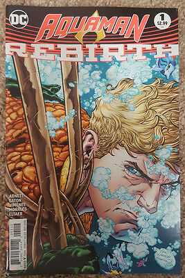 Aquaman #1 (2016) - DC Rebirth Comics - New/Unread