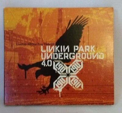 Extremely Rare Linkin Park Underground 4.0 Limited Edition Fan Club CD Very Good
