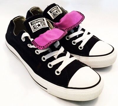 Converse Shoes Womens Size 9 Converse All Star Lo Shoes Canvas Black Shoes