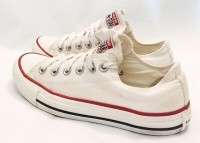 Converse Shoes Womens Size 7 Converse All Star Lo Shoes Canvas White Shoes