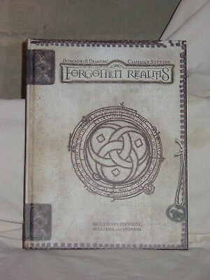 Dungeons & Dragons Forgotten Realms Campaign Setting HC 3rd 3.5 Edition