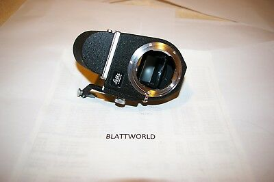 GENUINE ORIGINAL LEITZ LEICA  WETZLAR BRAND VISOFLEX III HOUSING with LEITZ PRIS
