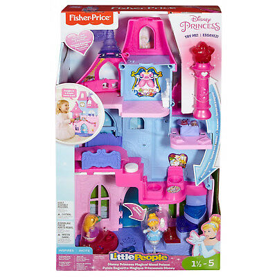 Fisher Price Little People Disney Princess Magical Wand Palace w/ Music & Lights