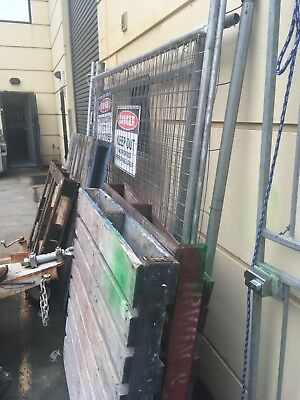Used Construction Fencing X 4
