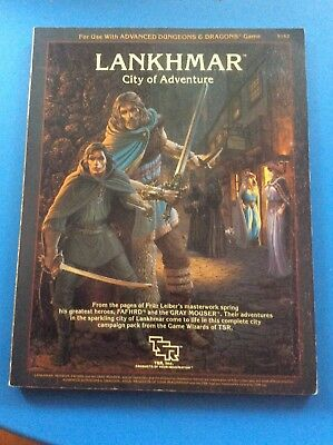 Lankhmar City Of Adventure, Including Map advanced dungeons and dragons